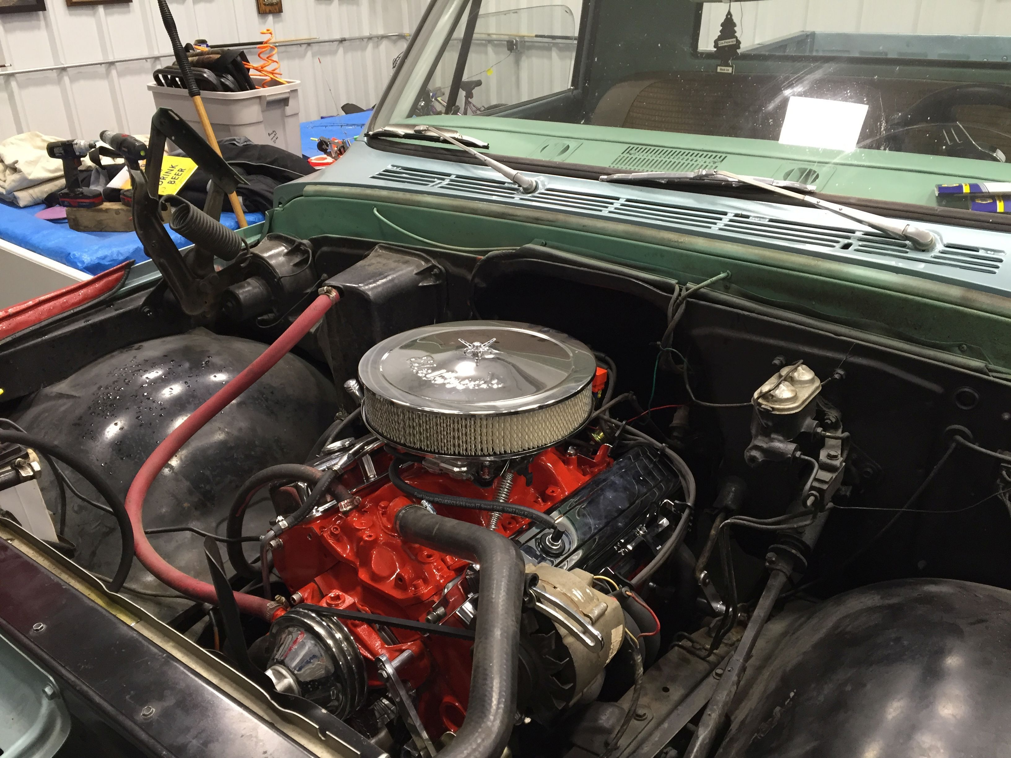 355ci crate engine small block gm style longblock aluminum joseph neumiller a customer of blueprint engines has installed a bp35512ct1 into his 1967 malvernweather Gallery
