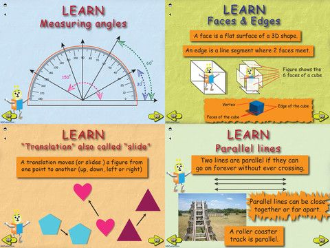 Top 8 Apps for Geometry Teaching elementary, Math