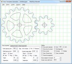 Gear template generator program pin pinterest gear template generator program maxwellsz