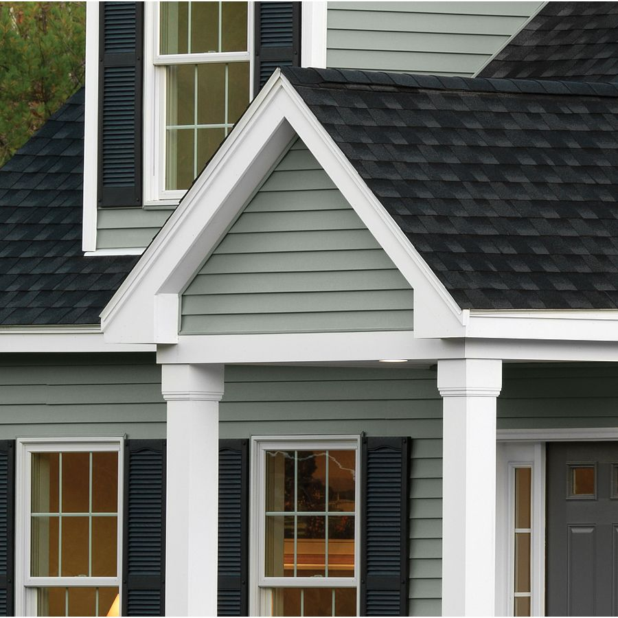 T1 11 For Home Design Color: Georgia-Pacific Compass Vinyl Siding Panel Double 4