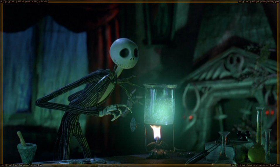 The Nightmare Before Christmas - fireplace (Disney, 1993 ...