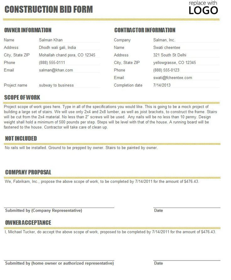 construction forms pdf Google eforms – Time and Materials Contract Template