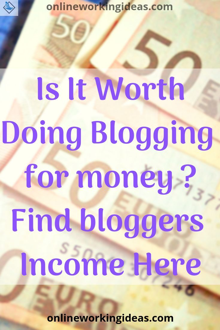 How Much Do Bloggers Make From Blogging