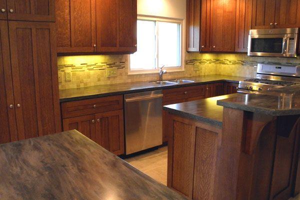 Kitchen Backsplash With Oak Cabinets kitchens with oak cabinets | white lacquered cabinets with custom