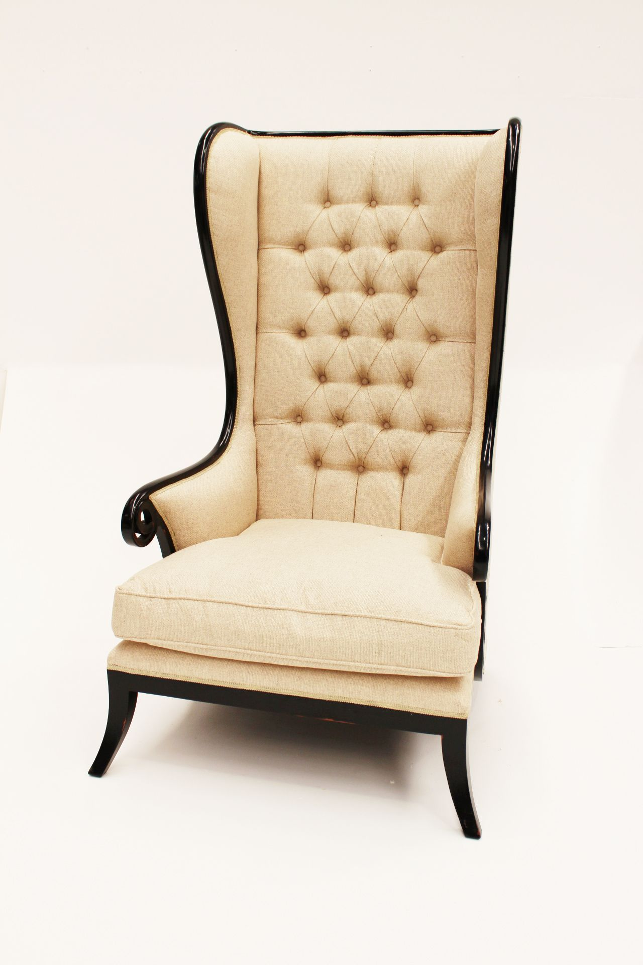 Tall Wingback Chair Wingback Dining Chair Hudson Furniture Chair
