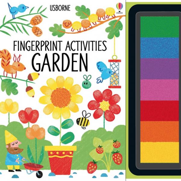 Fingerprint Activities Garden | Libros Aprender Inglés Jugando ...