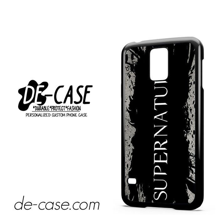 Supernatural Font DEAL-10358 Samsung Phonecase Cover For Samsung Galaxy S5 / S5 Mini