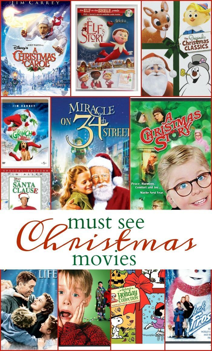 Christmas Movies List (With images) Christmas movies