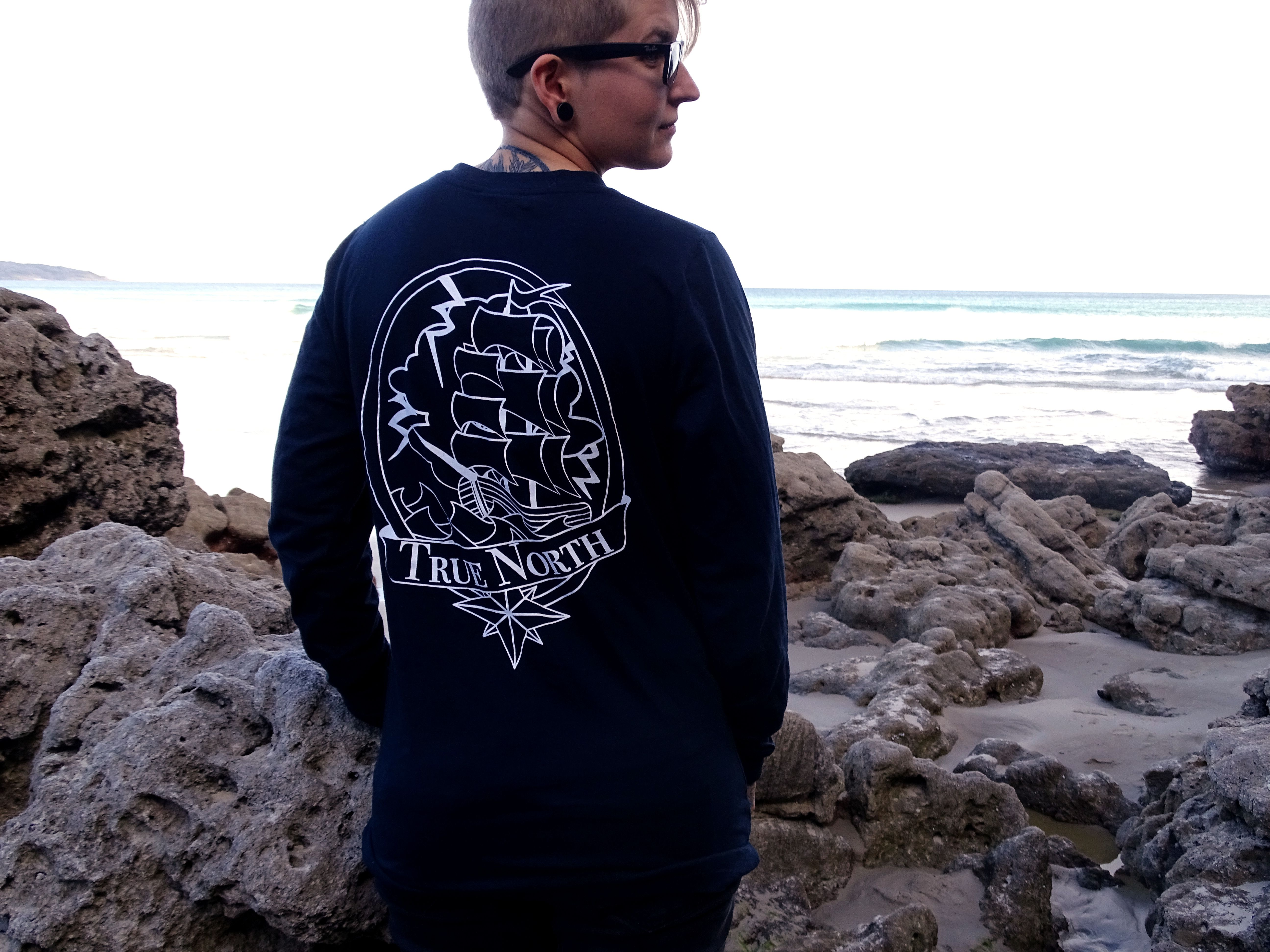 Our Nordic Long Sleeve. truenorthcollective.bigcartel.com #streetwear #tattoos #inkedgirls #girlswithink #tattooapparel