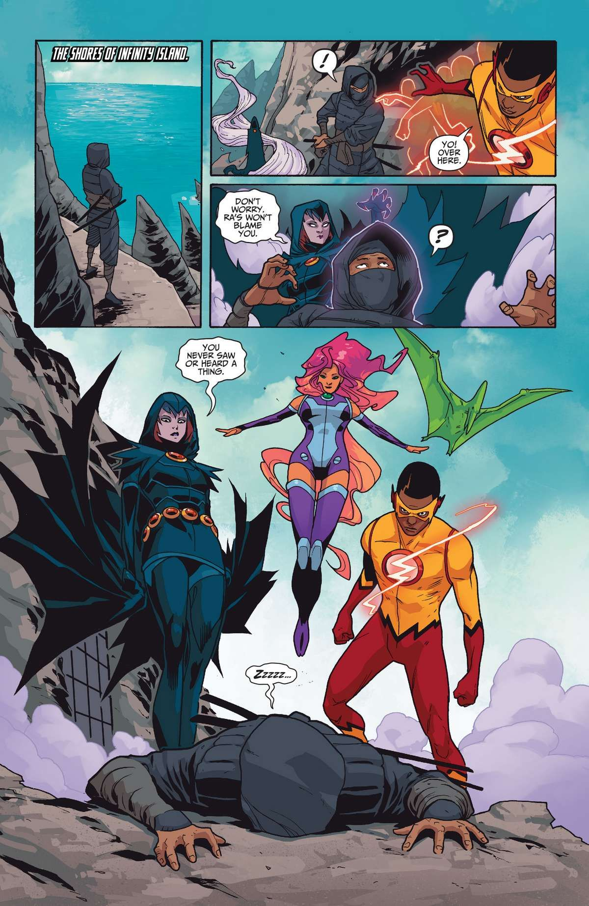 Image Result For Teen Titans Rebirth 4  Teen Titans -9715