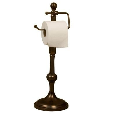 Barclay Products Lohrman Freestanding Toilet Paper Holder In Oil Rubbed Bronze Iftph2065 Orb The Home Depot Freestanding Toilet Paper Holder Bronze Toilet Paper Holder Toilet Paper Holder Oil rubbed bronze standing toilet paper holder