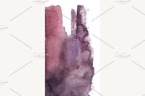 art, watercolor, texture, background, paper, spot, stroke, surface