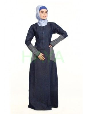 292441b9c5a Stylish and contemporary Denim Abayas