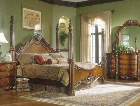 Queen poster bedroom set