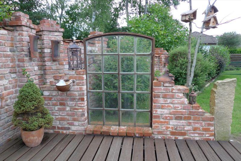 Inspirationen für Ruinenmauern im Garten – Karin Urban – NaturalSTyle