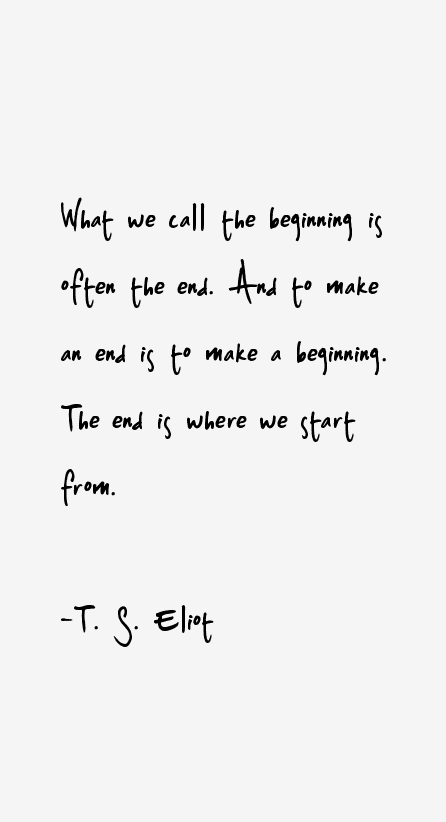 T. S. Eliot Quotes & Sayings