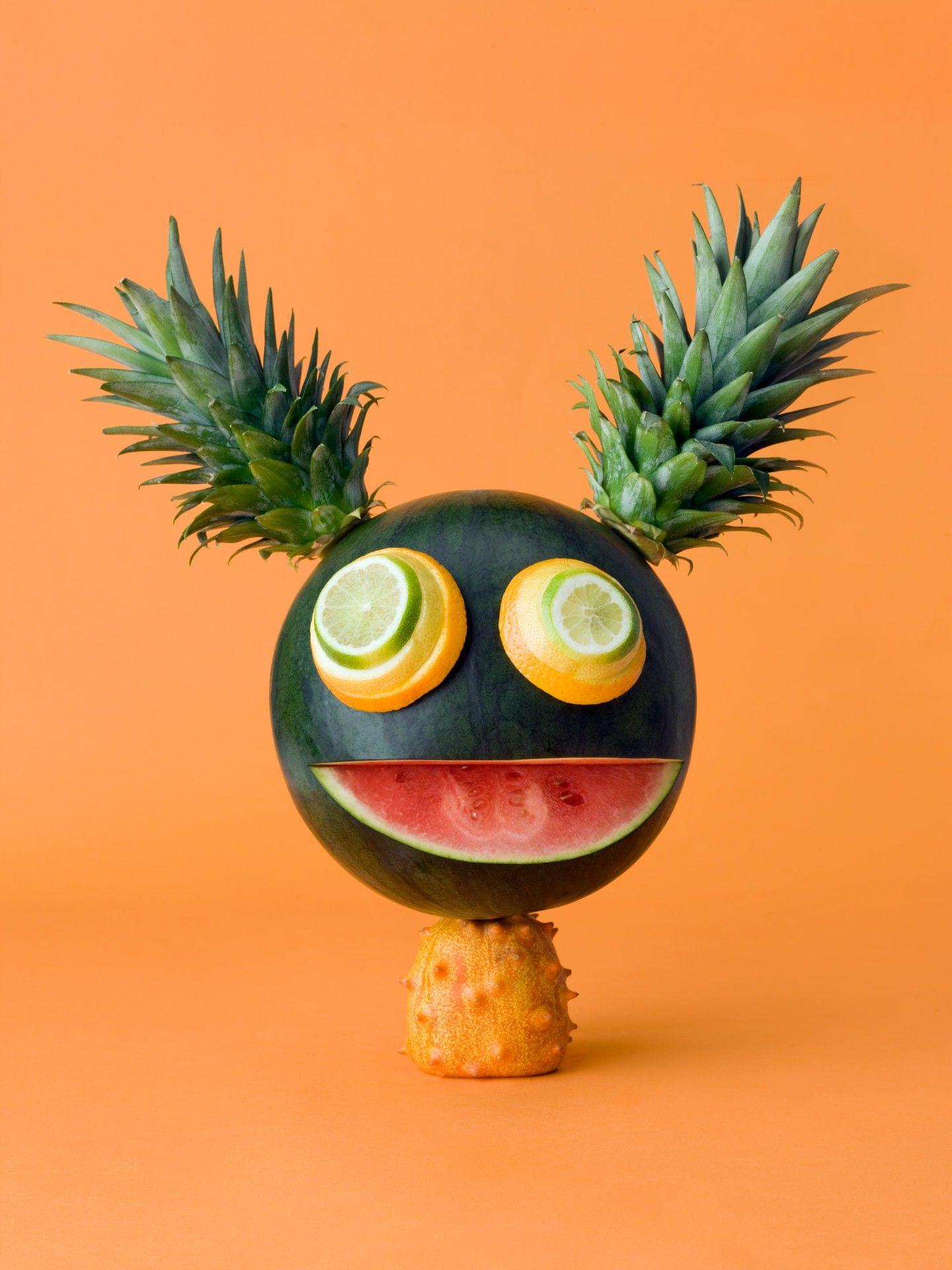 Прикольные фруктовые картинки