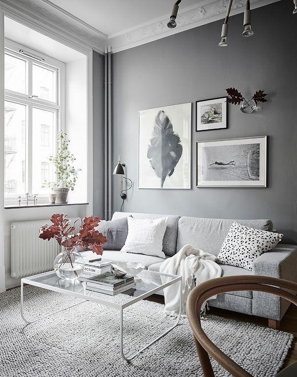 Home in grey | Grey Interior | Pinterest | Kleine räume einrichten ...