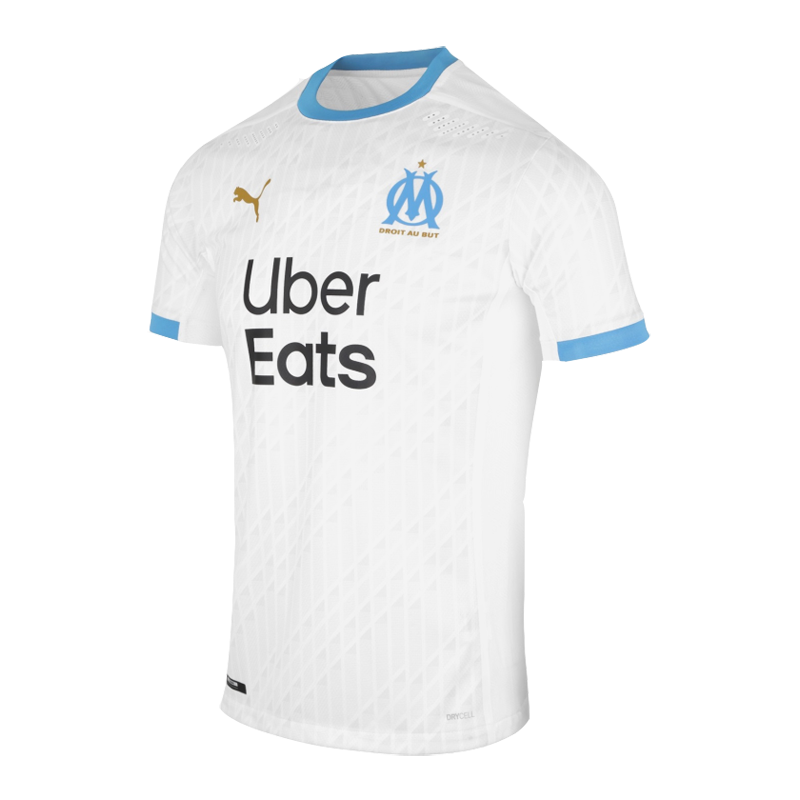 20 21 Marseille Home White Jerseys Shirt Marseilles Elmontsoccershop White Jersey Shirt Jersey Shirt White Jersey
