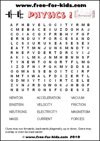 physics wish it was as easy as this t t 8th grade science free printable word searches. Black Bedroom Furniture Sets. Home Design Ideas