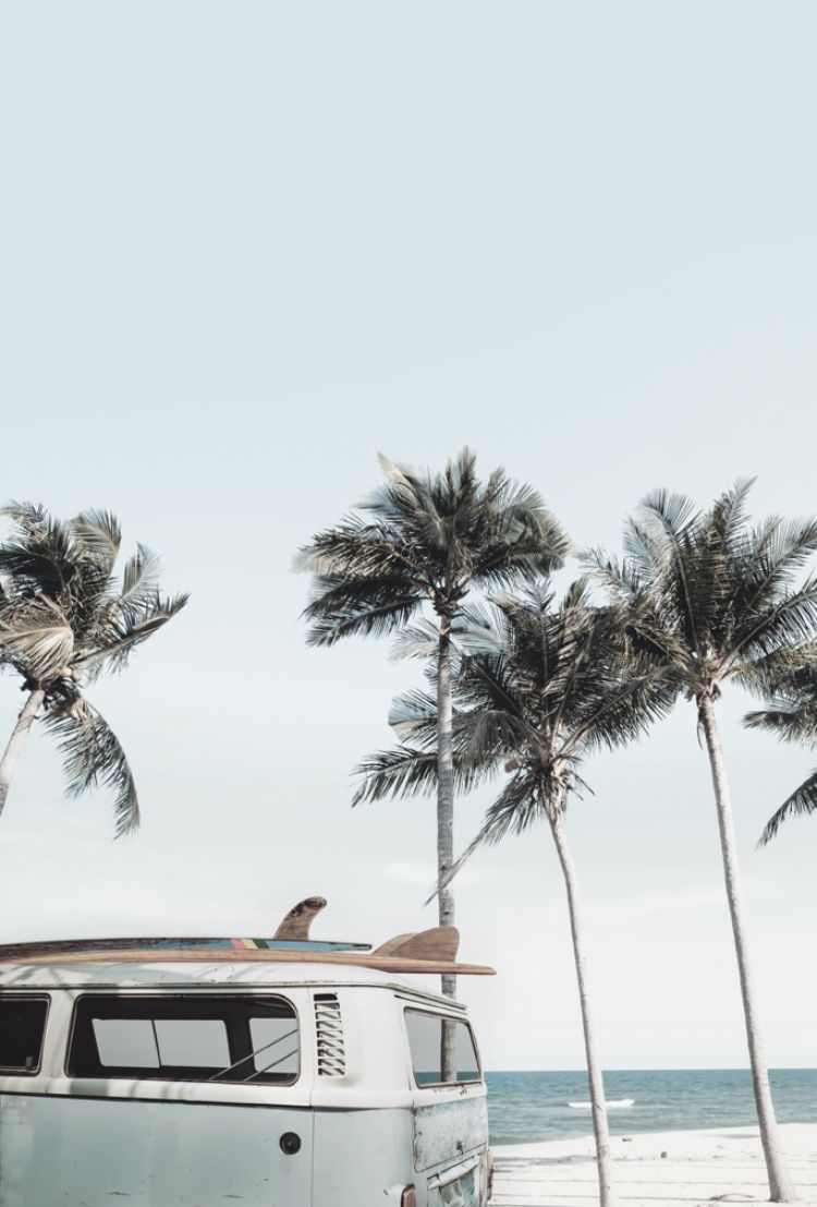 Kombi Printable | Surf Print | Beach Wall Art