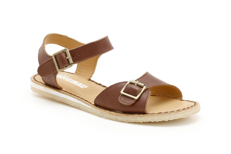 d0d2bd7815b Clarks Originals Womens Kestral Soar Chestnut Leather Sandals   Amazon.co.uk  Clarks