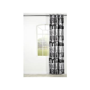 GORDIJN NYC GRIJS 140X260 En haar gordijnen | interieur | Pinterest
