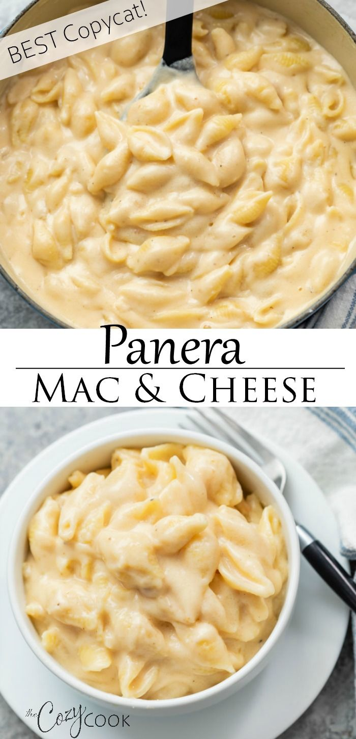 Panera Mac and Cheese Recipe - (BEST Copycat!) - The Cozy Cook