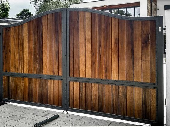 40 Spectacular Front Gate Ideas And Designs In 2020 Wooden Gate