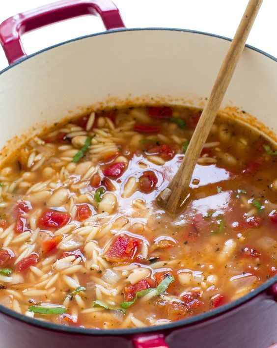 Italian Ham and White Bean Orzo Soup! A super easy dinner recipe that comes together in under 40 minutes time! It's time for some soup again! This time I made you myItalian Ham and White Bean Orzo Soup. A super simple Italian soup loaded with flavor thanks to the ham, garlic and fire roasted tomatoes!...Read More »