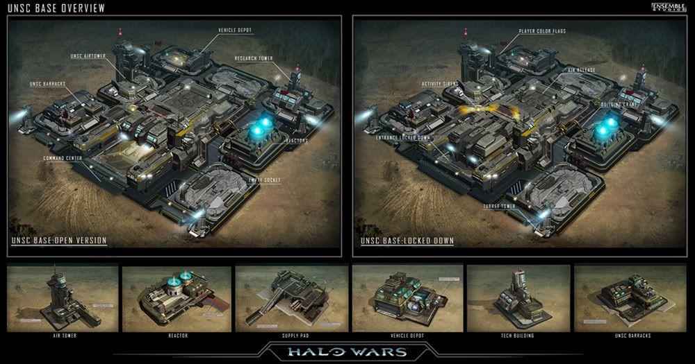 「ensemble concept art halo wars」の画像検索結果