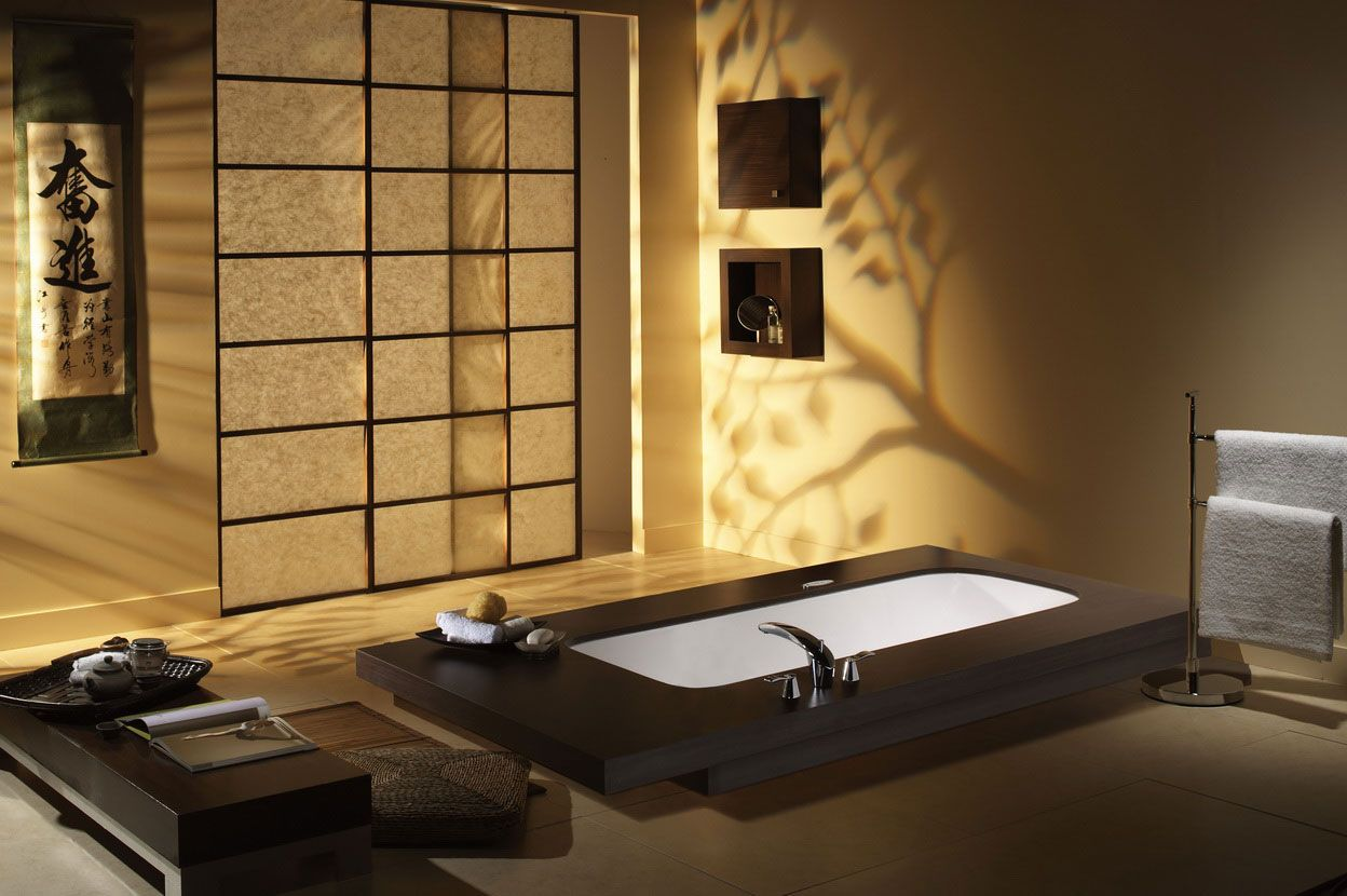Remarkable Interior Design Into Your Home Japanese Interior Design For Bathroom ~ Interior Design Sketches, Interior Design Bedroom, Modern ...