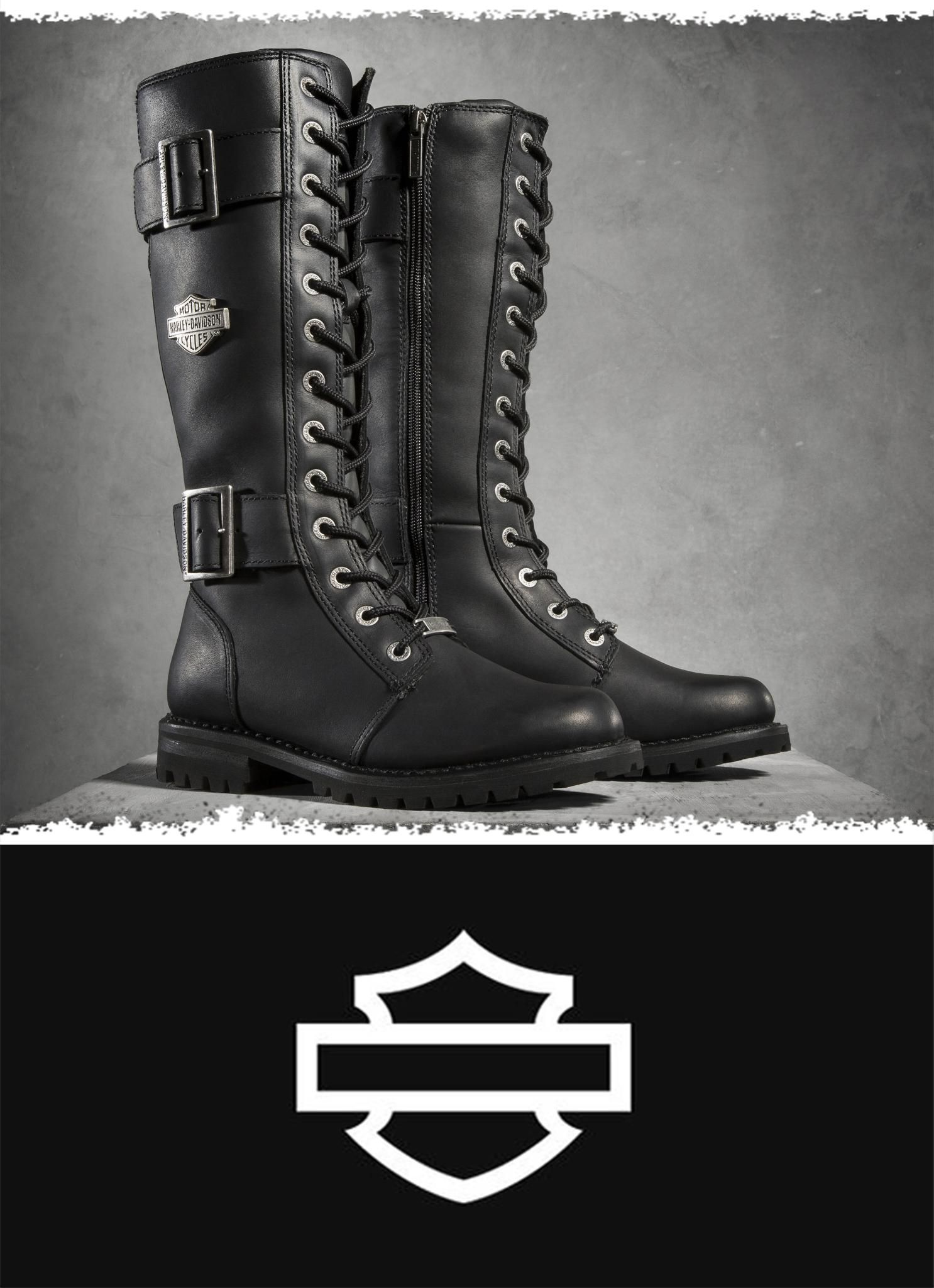 Boots, Womens harley davidson boots