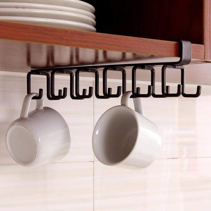 Photo of 12 Hooks Kitchen Cabinet Organizer
