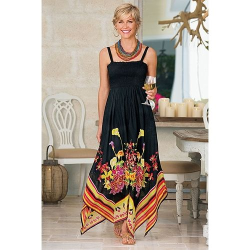 Riviera Maya Dress in Summer 2013 from Soft Surroundings on shop.CatalogSpree.com, my personal digital mall.
