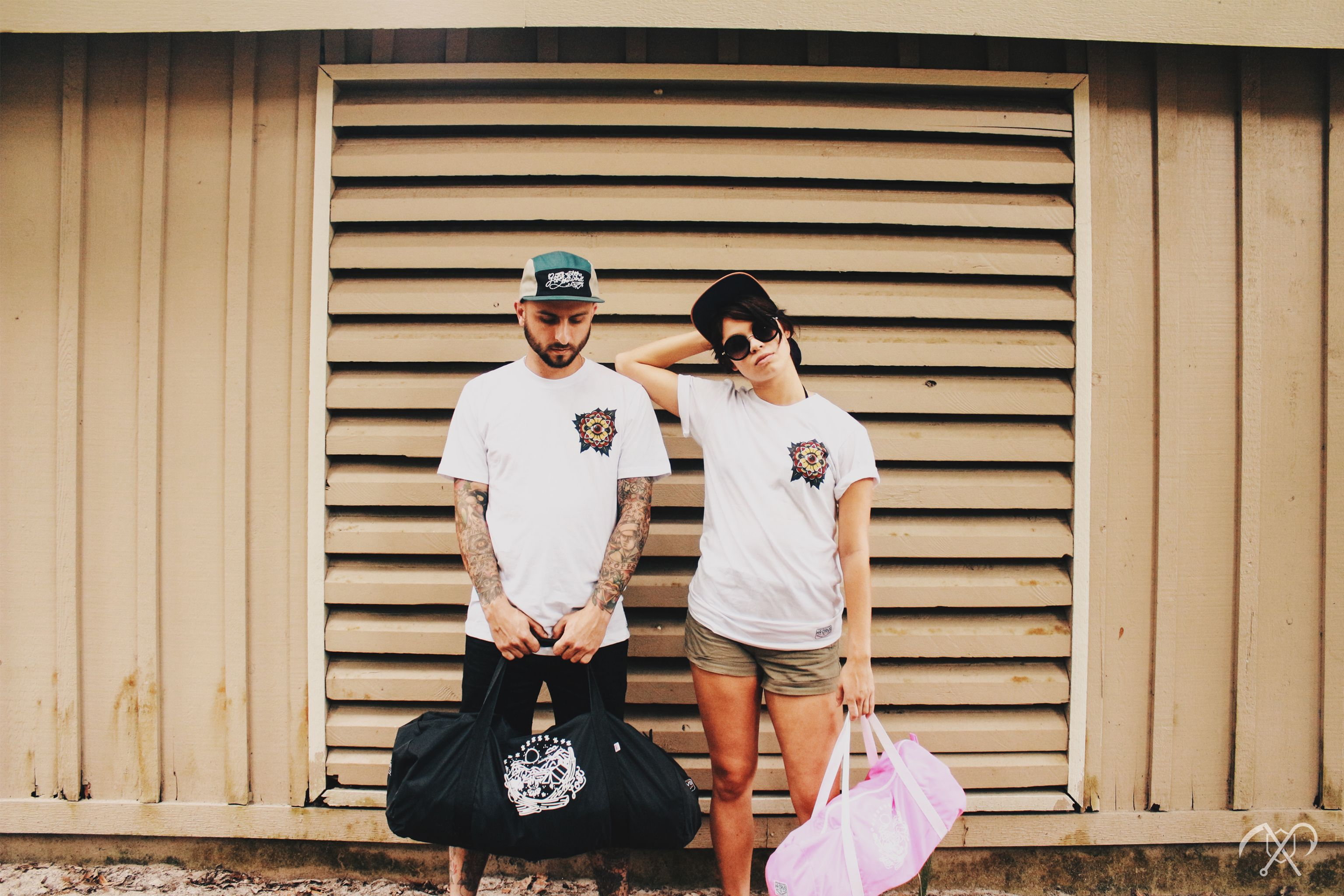 Headed somewhere this Summer? Gear up and look sharp!  Adventure Is Out There // www.HRDRVS.com  #hrdrvs #tattoos #adventure #exploration #explore #couples