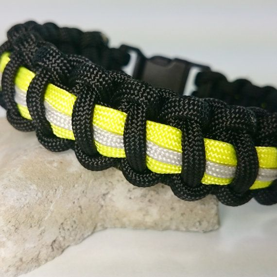 Bunker Gear Firefighter Bracelet Paracord By Farrallymanmade 10