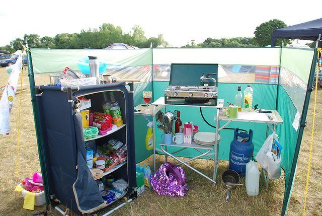 Camp Kitchen Comfortable Camping Festival Camping Setup Diy Camping