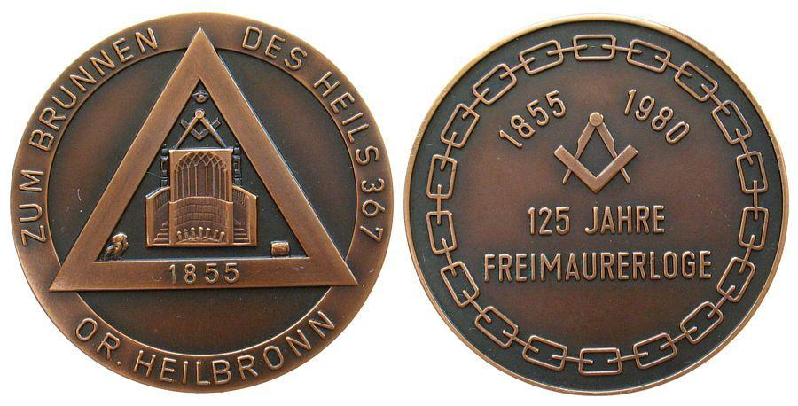 Freimaurer Bronze Heilbronn Zum Brunnen Des Heils 367