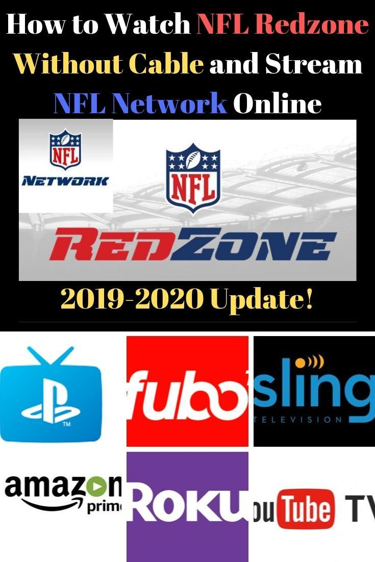 How to Watch NFL Redzone without Cable, Stream NFL Network