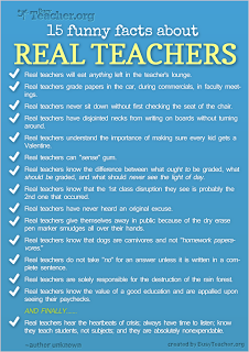 Confessions of a Teaching Junkie: Funny Facts About Real Teachers ...