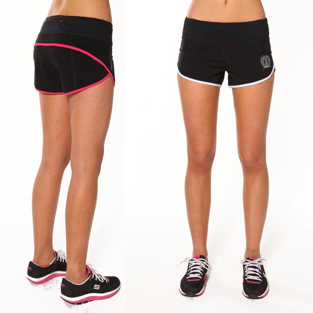 Ladies gymwear running hot shorts by blockout sport wear