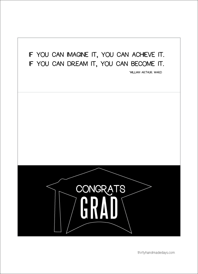 image relating to Printable Graduation Cards known as Printable Commencement Cash Holder Card 30times Printables