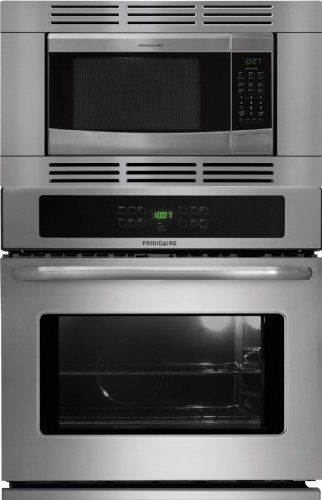 Frigidaire 27 Inch Stainless Steel 3 Piece Wall Oven Microwave Combo Ffew2725ls Ffmo1611ls Ffmotk27ls By Http
