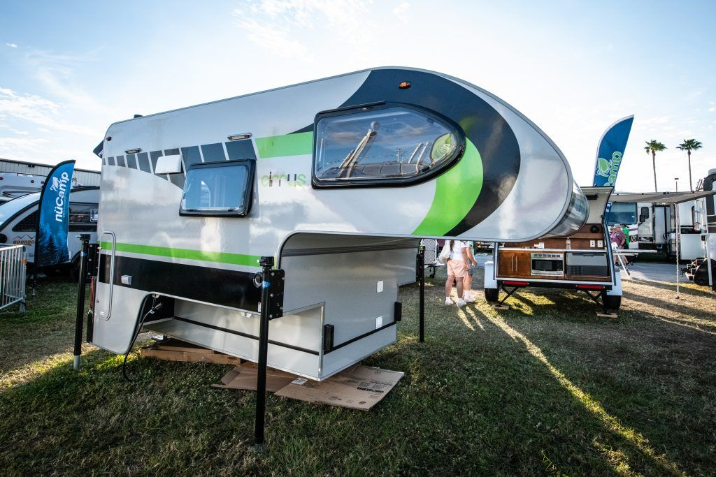 A First Look At The New Cirrus 670 Truck Camper Truck