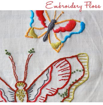 Butterfly embroidery #Anna Maria Horner | Embroidery | Pinterest
