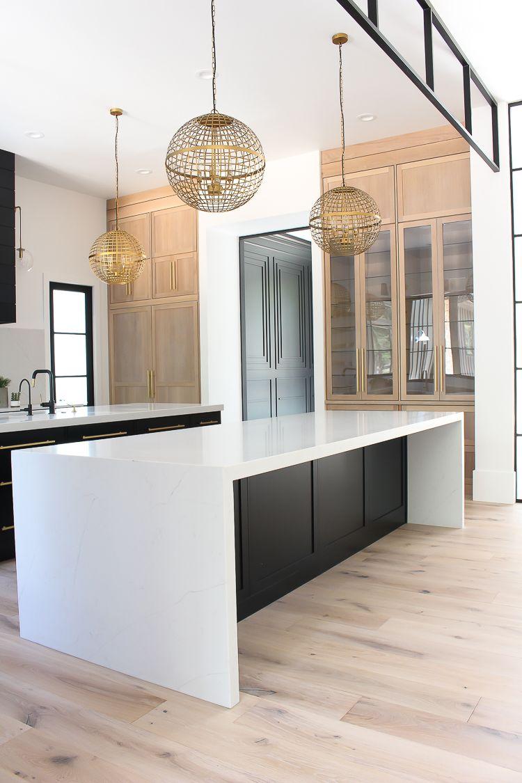 Our New Modern Kitchen The Big Reveal The House Of Silver Lining Modern Kitchen Design White Oak Kitchen Home Decor Kitchen