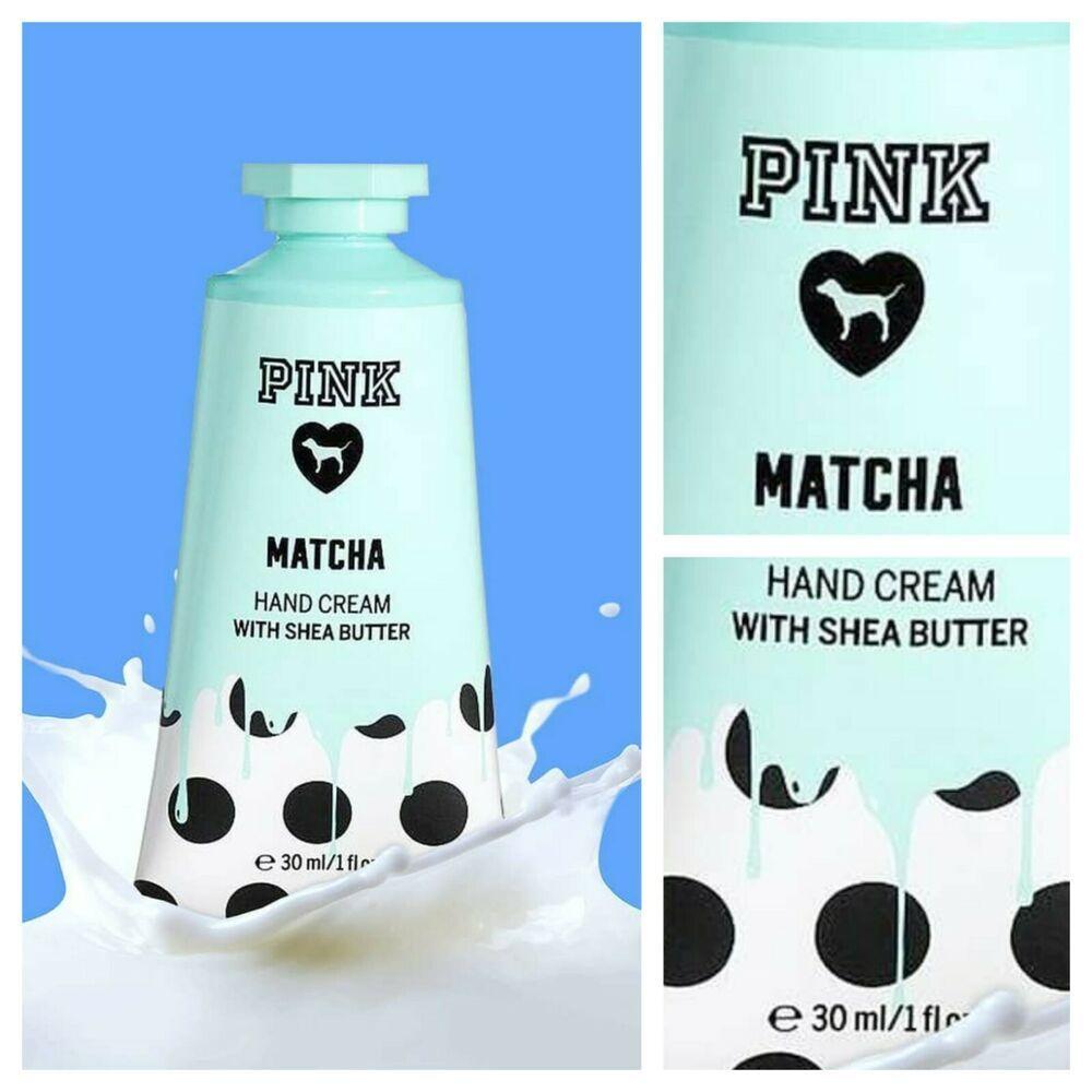 Victoria's Secret Pink Matcha Hand Cream   Hand cream, Shea
