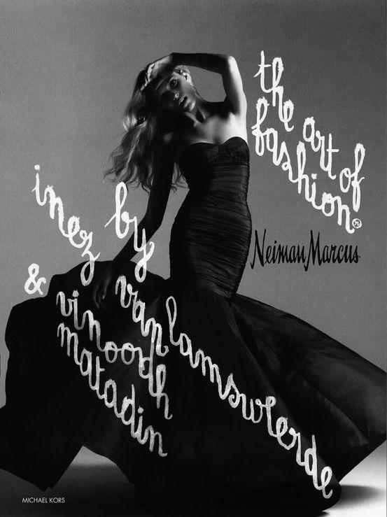 Art of Fashion, Fall 2005. Photographed by Inez & Vinoodh. #NMArtofFashion