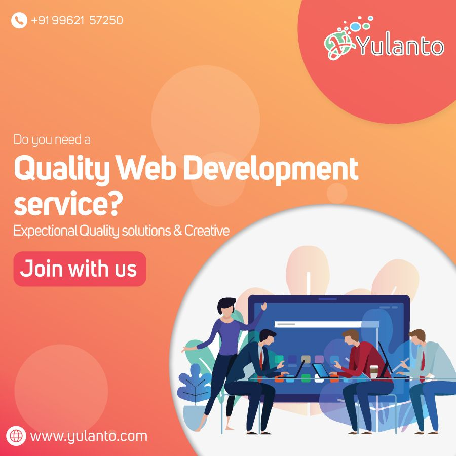 As per the growing necessities of our patrons, we are indulged in rendering Creative and Dynamic Web Development Service. This service is accomplished in varied patterns that meet on client's demand. We render these services at reasonable prices. Call Us Today!  #webdesign #webdevelopment #ecommerce #seo #logodesign #smm #company #service #chennai #india #designer #developer #agency
